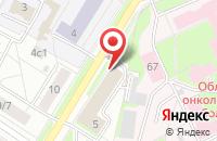 Схема проезда до компании Департамент ветеринарии Ярославской области в Ярославле