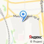 Морена Ярославль на карте Ярославля