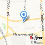 Панацея на карте Ярославля