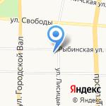 Деловой Интернет на карте Ярославля