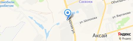 Темп-Авто на карте Аксая