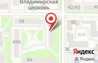 Схема проезда до компании Деловой Интернет в Ярославле