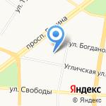 Детский сад №78 на карте Ярославля