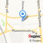 Автодок на карте Ярославля