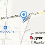 Стек на карте Ярославля