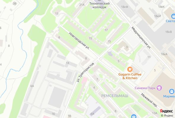 продажа квартир по улице Трактористов