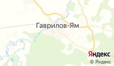 Гостиницы города Гаврилов-Ям на карте