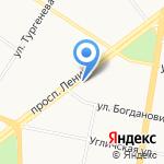 Областной врачебно-физкультурный диспансер на карте Ярославля
