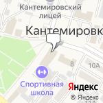 Магазин салютов Кантемировка- расположение пункта самовывоза
