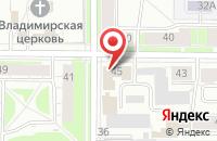 Схема проезда до компании Медиа-Мир в Ярославле