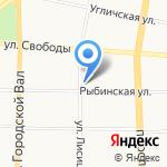 СДЮСШОР №17 на карте Ярославля