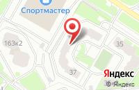 Схема проезда до компании Ярэлектроснаб в Ярославле