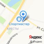 Марго на карте Ярославля