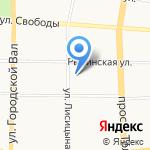 Миллион Друзей на карте Ярославля