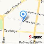 Жанэт на карте Ярославля