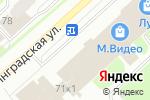 Схема проезда до компании Магазин верхней одежды в Вологде