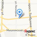 Природа на карте Ярославля
