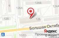 Схема проезда до компании Альтернатива-Свд в Ярославле