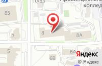 Схема проезда до компании Ростелеком в Ярославле
