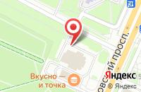 Схема проезда до компании Муш в Ярославле