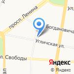 Промхимпроект на карте Ярославля