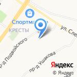 Служба эвакуации на карте Ярославля