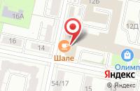 Схема проезда до компании Веста в Ярославле