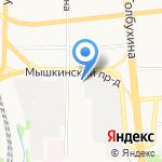 YARTYRE на карте Ярославля