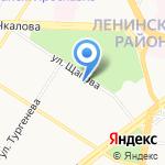 Киви на карте Ярославля