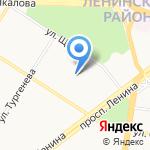 Средняя общеобразовательная школа №36 на карте Ярославля