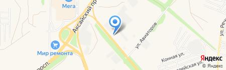 МИР на карте Аксая