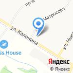 Белогорье на карте Ярославля