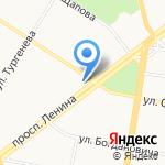 Центр спортивной медицины и реабилитации на карте Ярославля