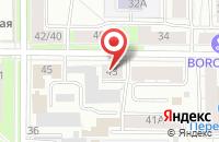 Схема проезда до компании Лицом к миру в Ярославле