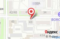 Схема проезда до компании Баклажан в Ярославле