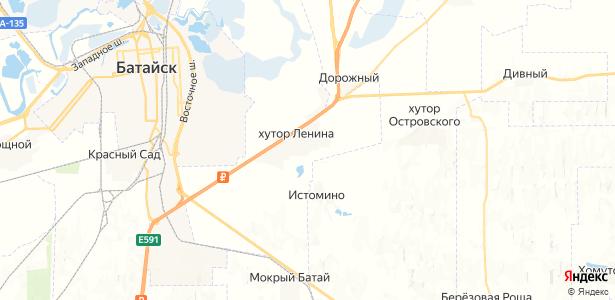 Ленина на карте