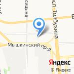 GreenAuto на карте Ярославля