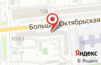 Схема проезда до компании Автоплюс в Ярославле