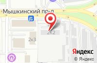 Схема проезда до компании Взлет в Ярославле