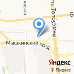 Лукойл-Волганефтепродукт на карте Ярославля
