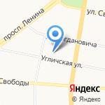 Эко-С на карте Ярославля