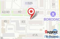 Схема проезда до компании Шаг вперед в Ярославле