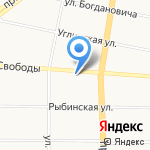 Дентлайн на карте Ярославля