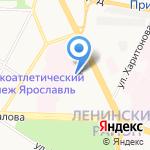 Территориальный центр медицины катастроф на карте Ярославля
