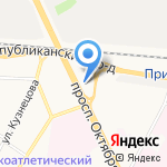 Контракт-Н на карте Ярославля
