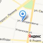 ЯРСТРОЙКА на карте Ярославля