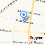 Викарт на карте Ярославля