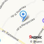 Букинист на карте Ярославля