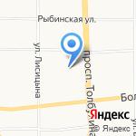 Отель76 на карте Ярославля