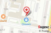 Схема проезда до компании LOST в Ярославле